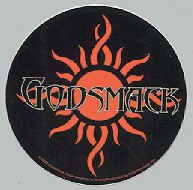 Godsmack Vinyl Sticker Tribal Sun Logo