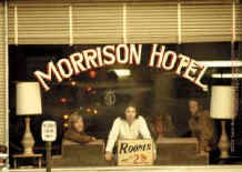 The Doors Vinyl Sticker Jim Morrison Hotel