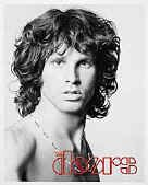 The Doors Vinyl Sticker Jim Morrison Close Up