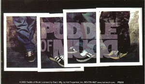 Puddle of Mudd Vinyl Sticker Shoes Logo