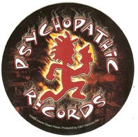 Psychopathic Records Vinyl Sticker Circle Logo
