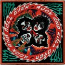 Kiss Iron-On Patch Rock and Roll Over Logo