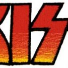 Kiss Iron-On Patch Letters Logo