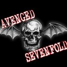 Avenged Sevenfold Poster Flag Death Bat Skull Tapestry