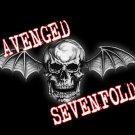 Avenged Sevenfold Poster Flag Death Bat Skull Tapestry