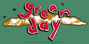 Green Day Vinyl Sticker Dookie Logo