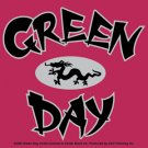 Green Day Vinyl Sticker Dragon Logo