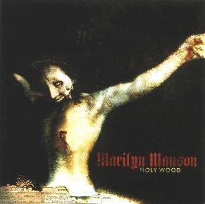 Marilyn Manson Vinyl Sticker Holy Wood Logo