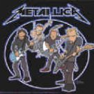 Metallica Vinyl Sticker Animated Band Logo