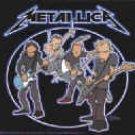 Metallica Vinyl Sticker Animated Band Logo