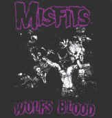 Misfits Vinyl Sticker Wolf's Blood Logo