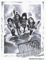 Kiss Vinyl Sticker Farewell Tour Logo
