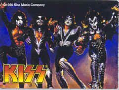 Kiss Vinyl Sticker Destroyer Logo