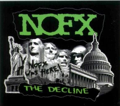 NOFX Vinyl Sticker The Decline Logo