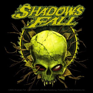 Shadows Fall Vinyl Sticker Skull Logo