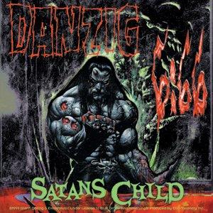 Danzig Vinyl Sticker Satans Child