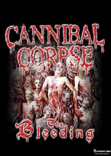 Cannibal Corpse Poster Flag The Bleeding Tapestry
