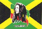 Bob Marley Poster Flag Jamaican Logo Tapestry