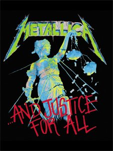 Metallica Poster Flag And Justice for All Wall Banner