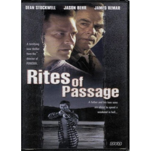 Rites of Passage DVD Dean Stockwell - Victor Salva - James Remar