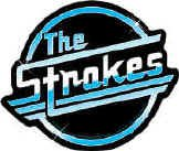 The Strokes Vinyl Sticker Circle Letters Logo