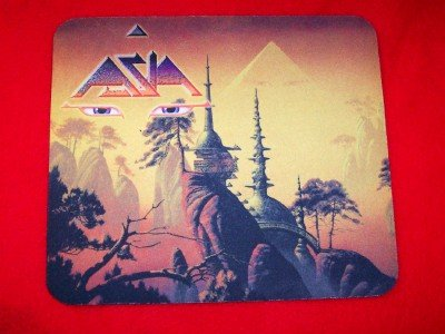 Asia Mouse Pad Aura CD Cover Logo