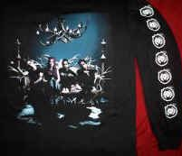 Coal Chamber Long Sleeve  T-Shirt SX RX N RR Logo Black Size Large