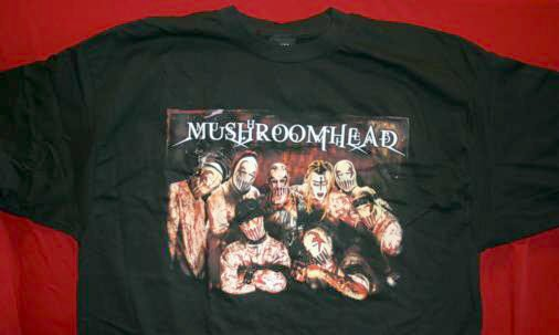 Mushroomhead T-Shirt Band of Shrooms Black Size Large