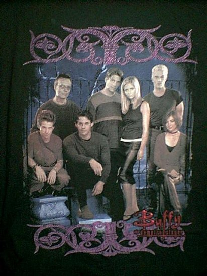 Buffy the Vampire Slayer Long Sleeve T-Shirt Black Size XL