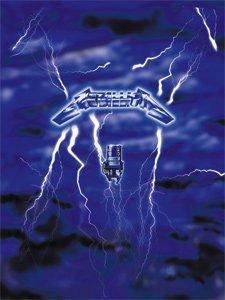 Metallica Poster Flag Ride the Lightning Wall Banner