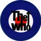 The Who Iron-On Patch Bulls Eye Target Logo