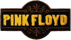 Pink Floyd Iron-On Patch Die Cut Logo