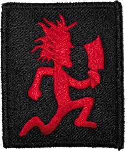Psychopathic Records Iron-On Patch Hatchet Man