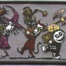 Nightmare Before Christmas Iron-On Patch Lock Shock