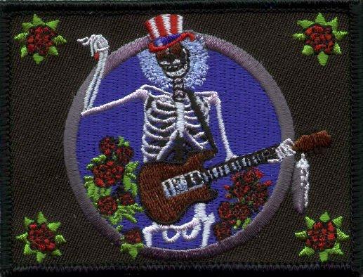 Grateful Dead Iron-On Patch Electric Sam Logo