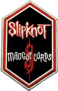 Slipknot Iron-On Patch Maggot Corps Logo