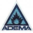 Adema Iron-On Patch Blue Triangle Logo