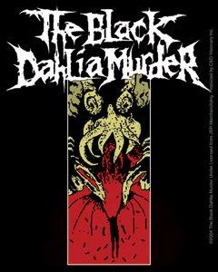 Black Dahlia Murder Vinyl Sticker Squid Logo