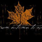 From Autumn to Ashes Vinyl Sticker Leaf Logo