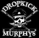 Dropkick Murphys Vinyl Sticker Hockey Skull Logo