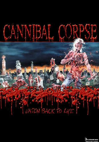 Cannibal Corpse Poster Flag Eaten Back To Life Tapestry