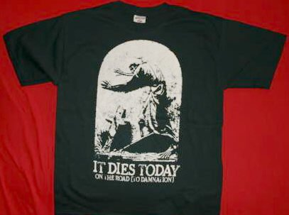 It Dies Today T-Shirt Damnation Logo Black Size XL