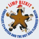 Limp Bizkit Vinyl Sticker Chocolate Starfish Logo