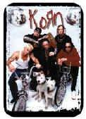 Korn Vinyl Sticker Band on Bikes Photo