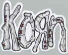 Korn Vinyl Sticker Die Cut Letters Logo