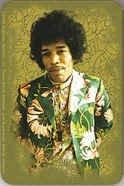 Jimi Hendrix Vinyl Sticker Jacket Photo Logo