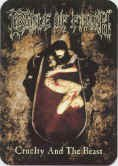 Cradle of Filth Vinyl Sticker Cruelty and the Beast