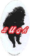 Bush Vinyl Sticker Dog Logo