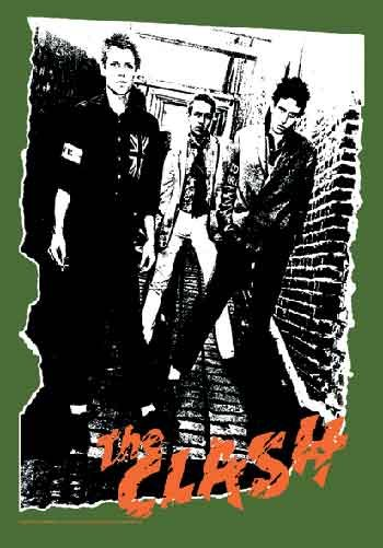 The Clash Poster Flag Album Cover Tapestry