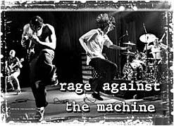 Rage Against the Machine Poster Flag Live Jumping Tapestry